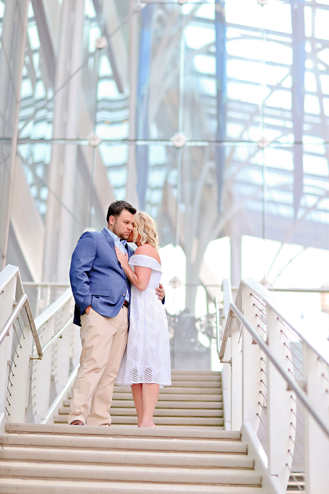 Chelsea Tom Downtown Indianapolis Engagement Session 071