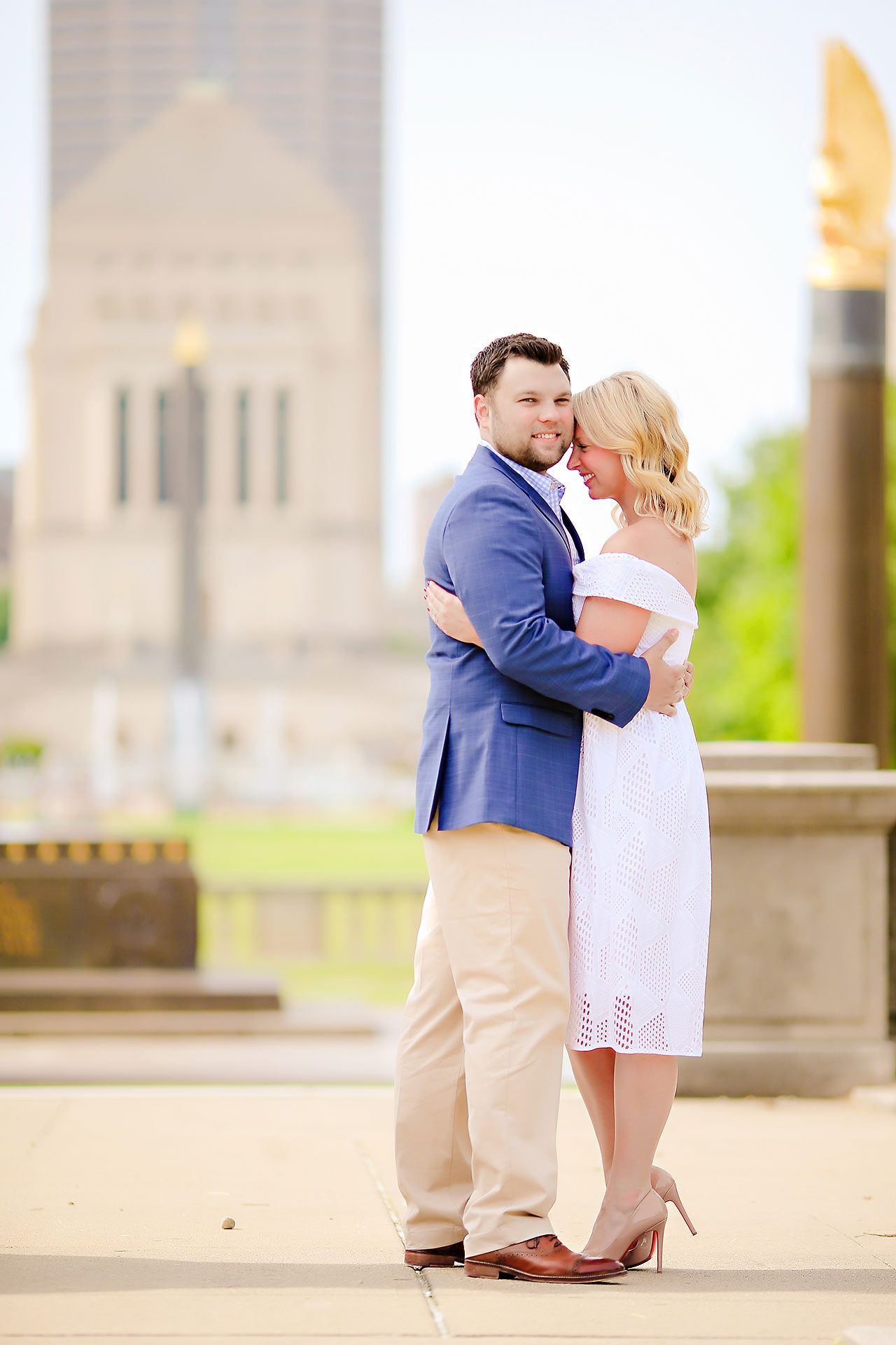 Chelsea Tom Downtown Indianapolis Engagement Session 079