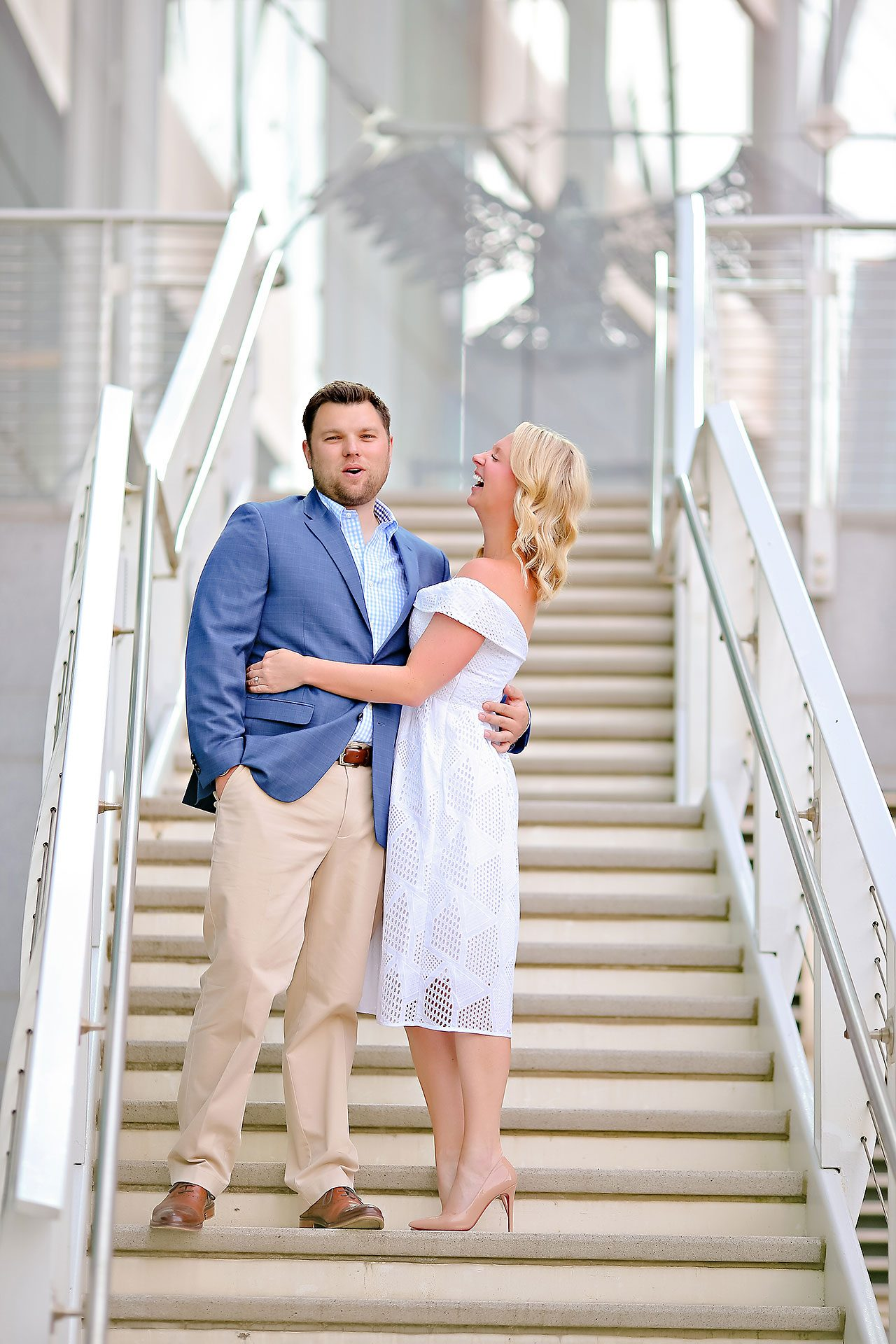Chelsea Tom Downtown Indianapolis Engagement Session 080