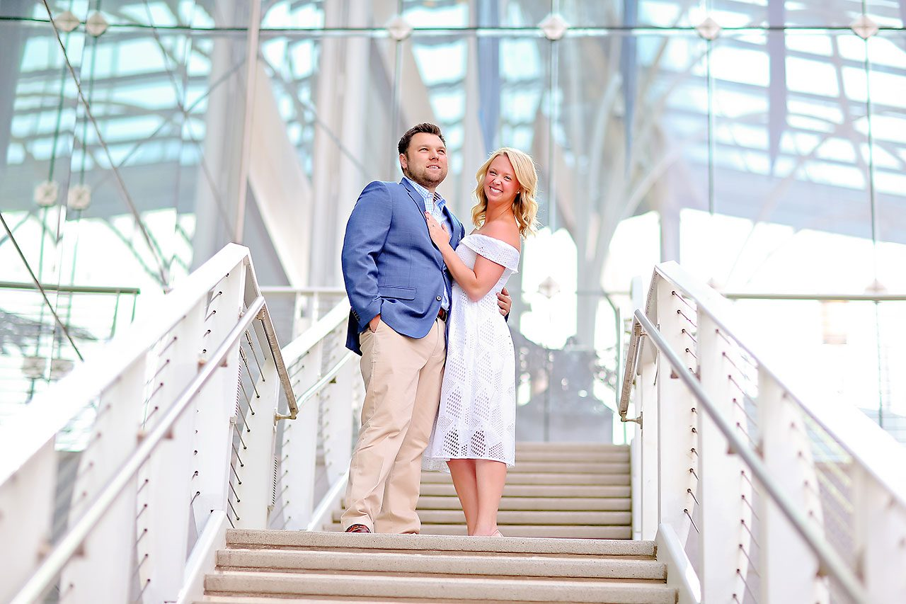 Chelsea Tom Downtown Indianapolis Engagement Session 087