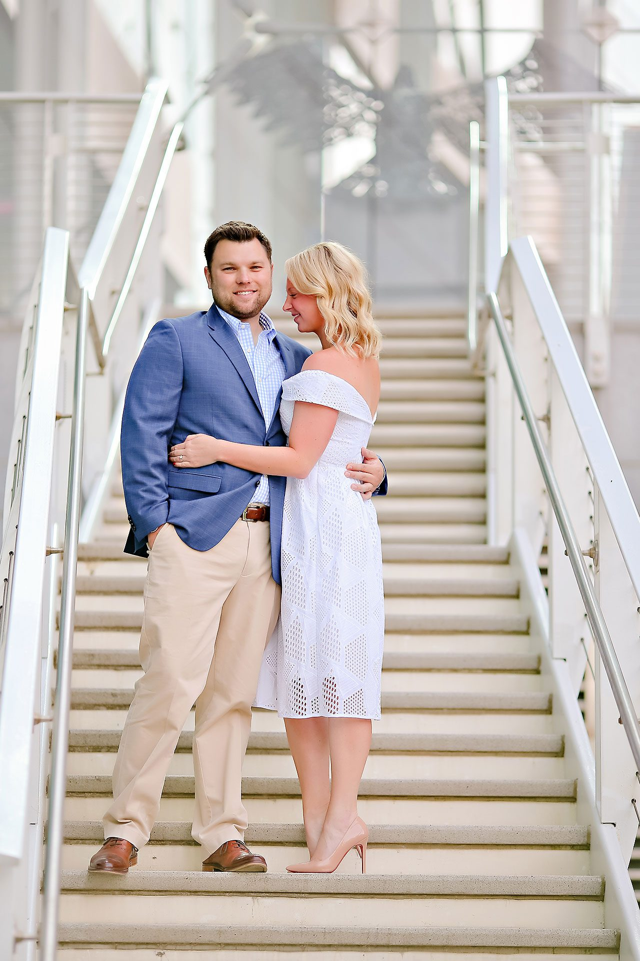 Chelsea Tom Downtown Indianapolis Engagement Session 096