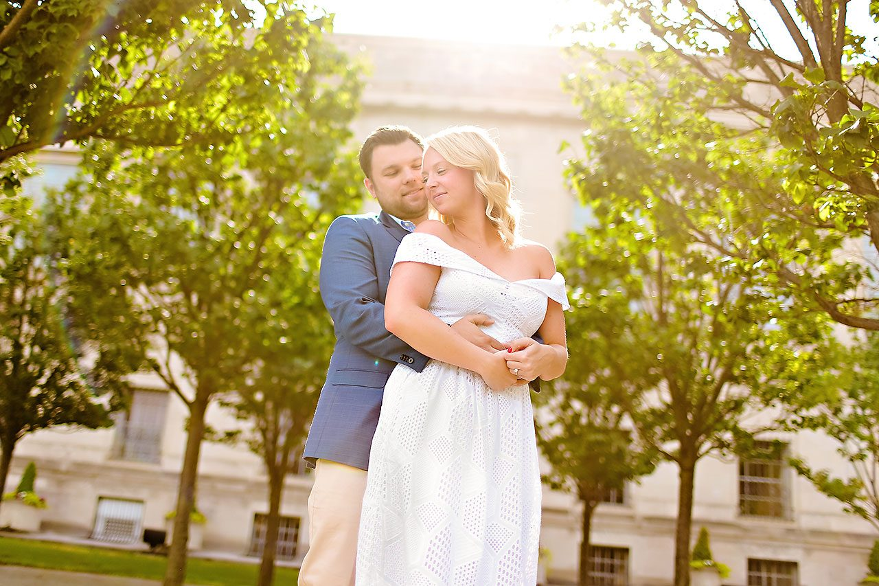 Chelsea Tom Downtown Indianapolis Engagement Session 098