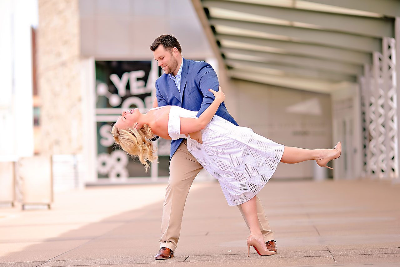 Chelsea Tom Downtown Indianapolis Engagement Session 100