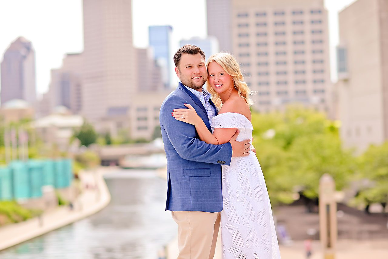 Chelsea Tom Downtown Indianapolis Engagement Session 101