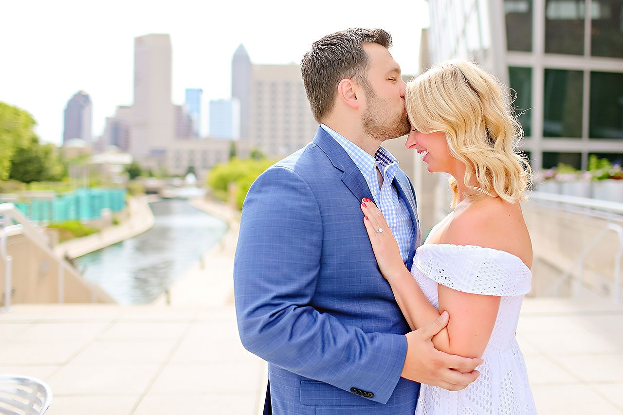 Chelsea Tom Downtown Indianapolis Engagement Session 103