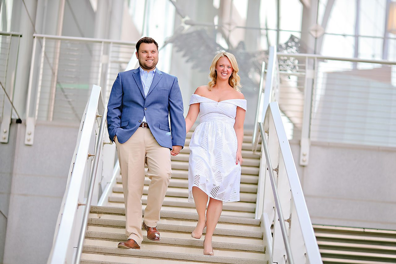Chelsea Tom Downtown Indianapolis Engagement Session 104