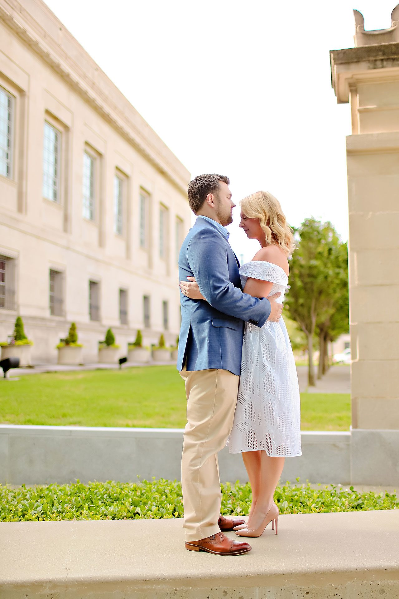 Chelsea Tom Downtown Indianapolis Engagement Session 105