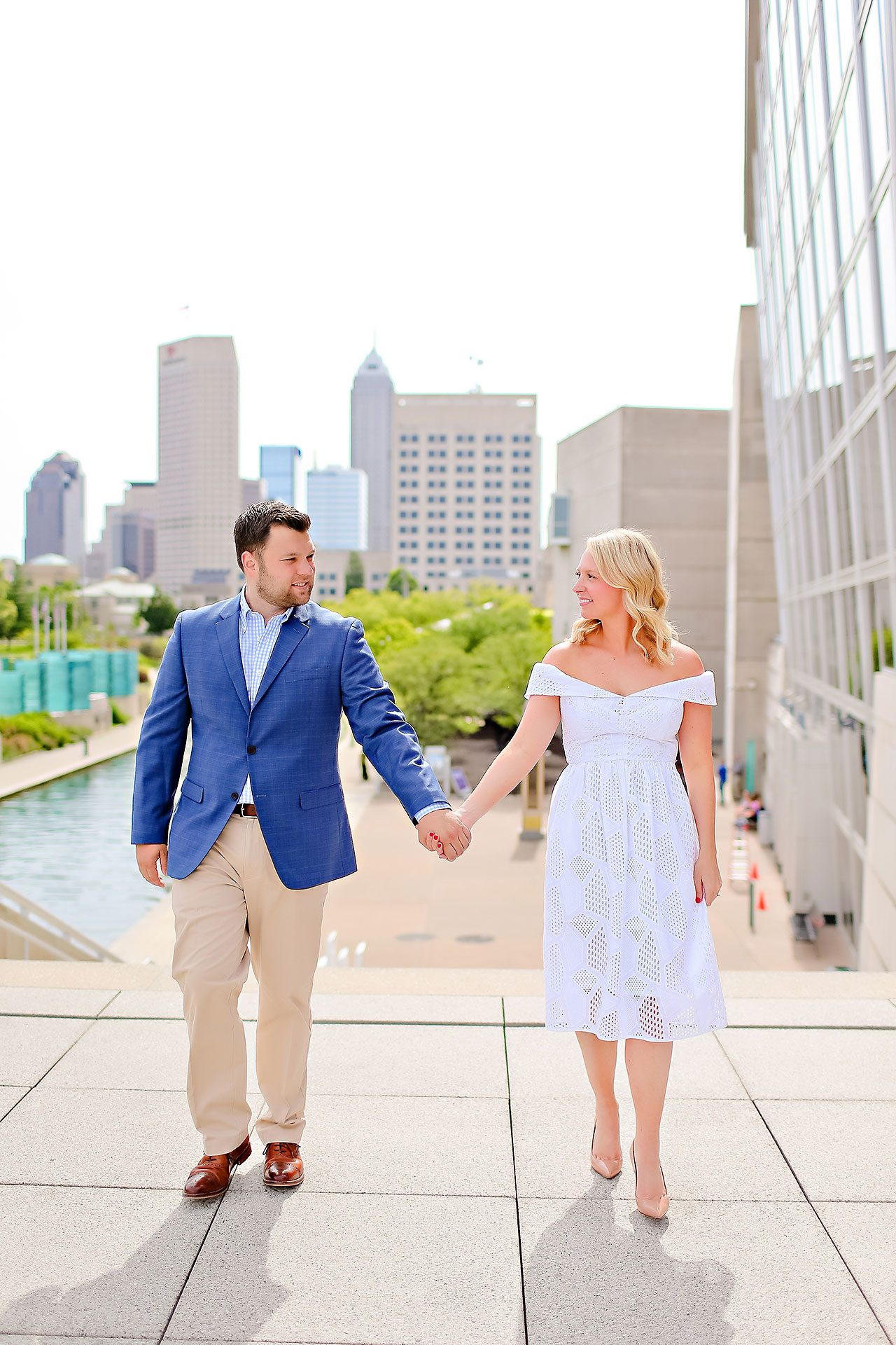 Chelsea Tom Downtown Indianapolis Engagement Session 108