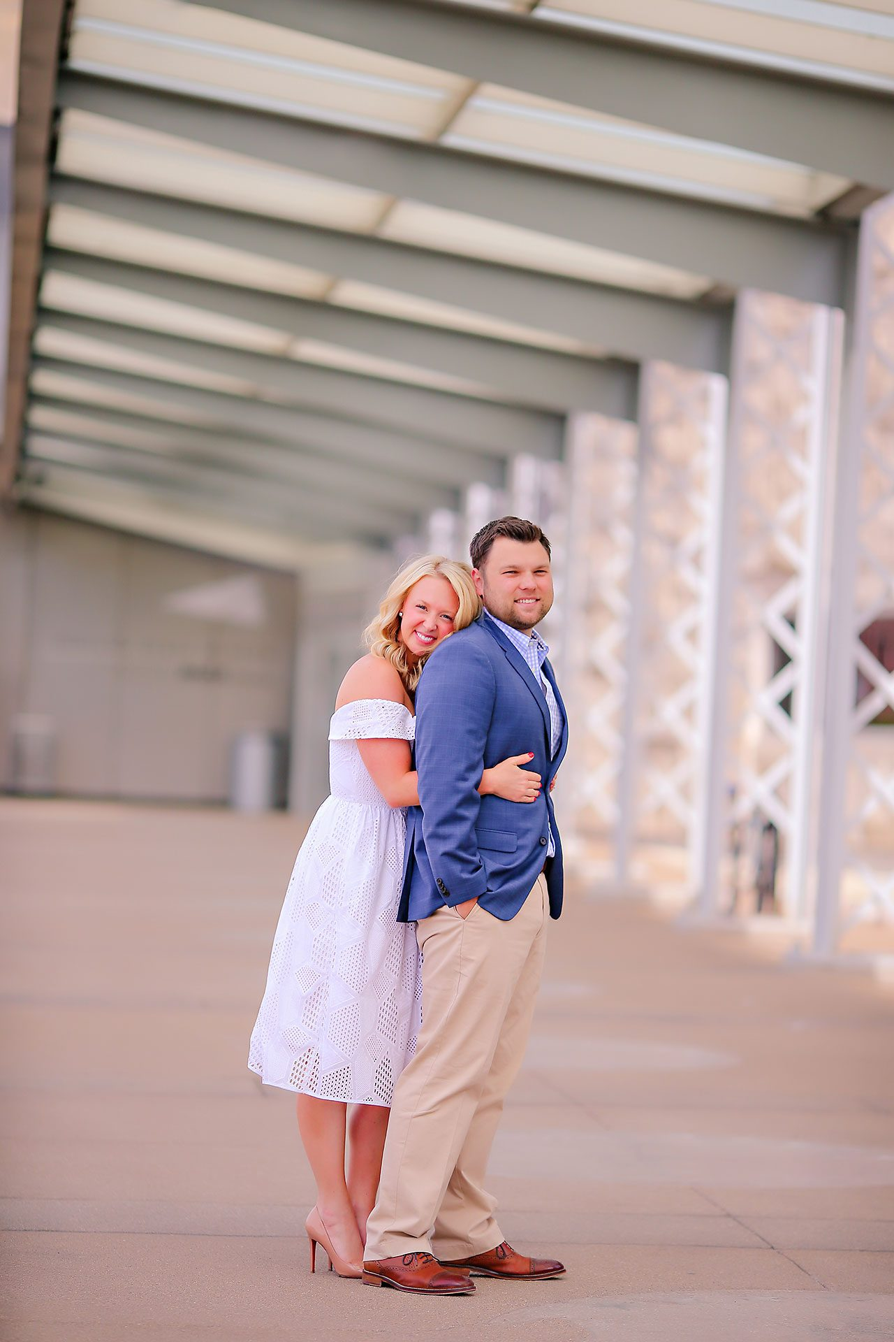 Chelsea Tom Downtown Indianapolis Engagement Session 111