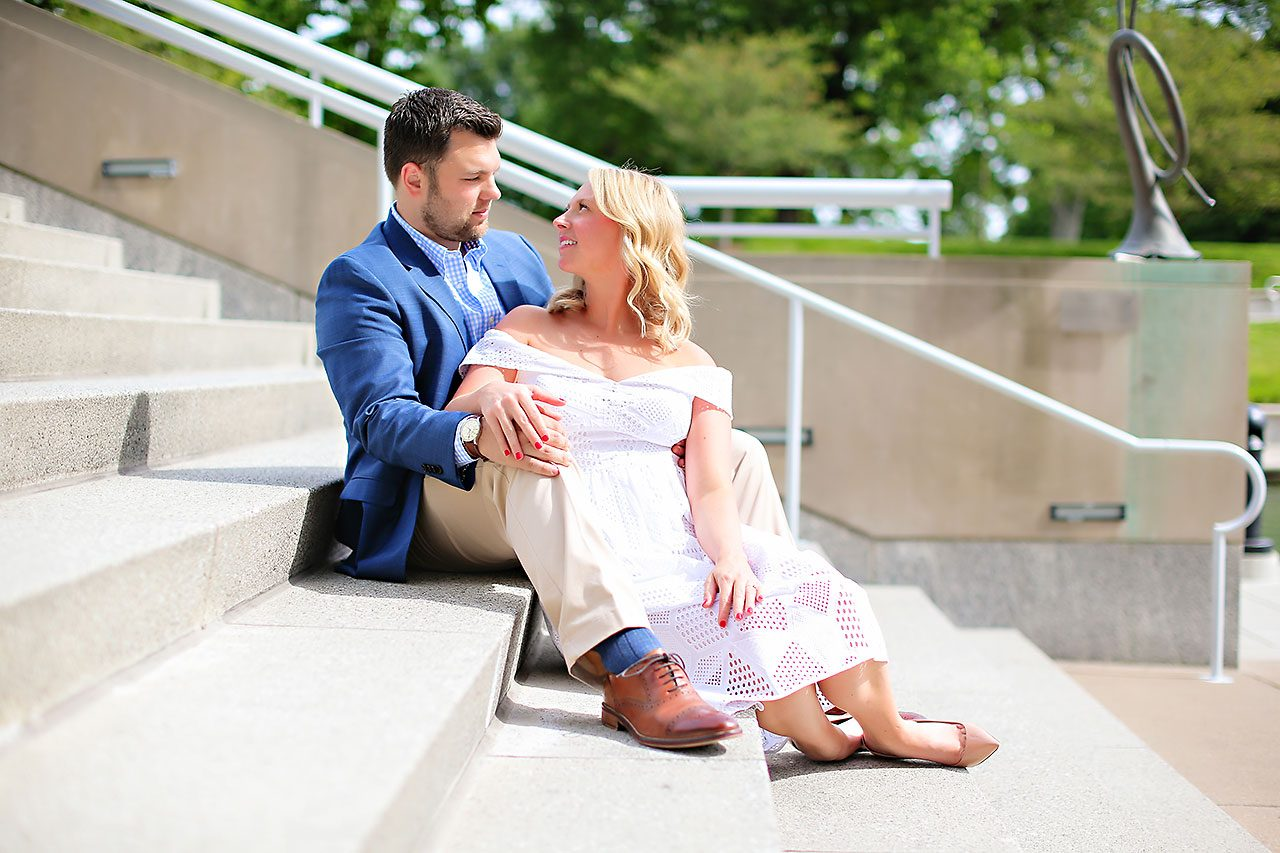 Chelsea Tom Downtown Indianapolis Engagement Session 116