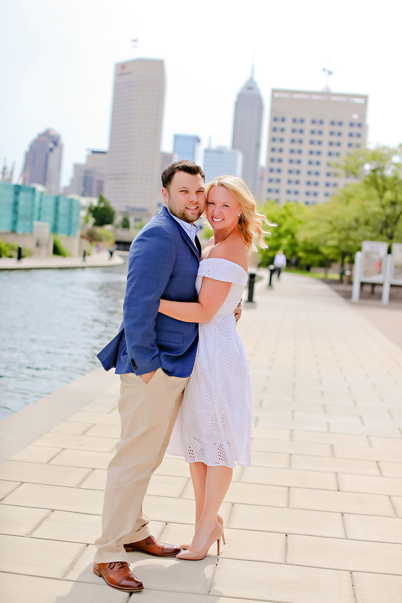 Chelsea Tom Downtown Indianapolis Engagement Session 118