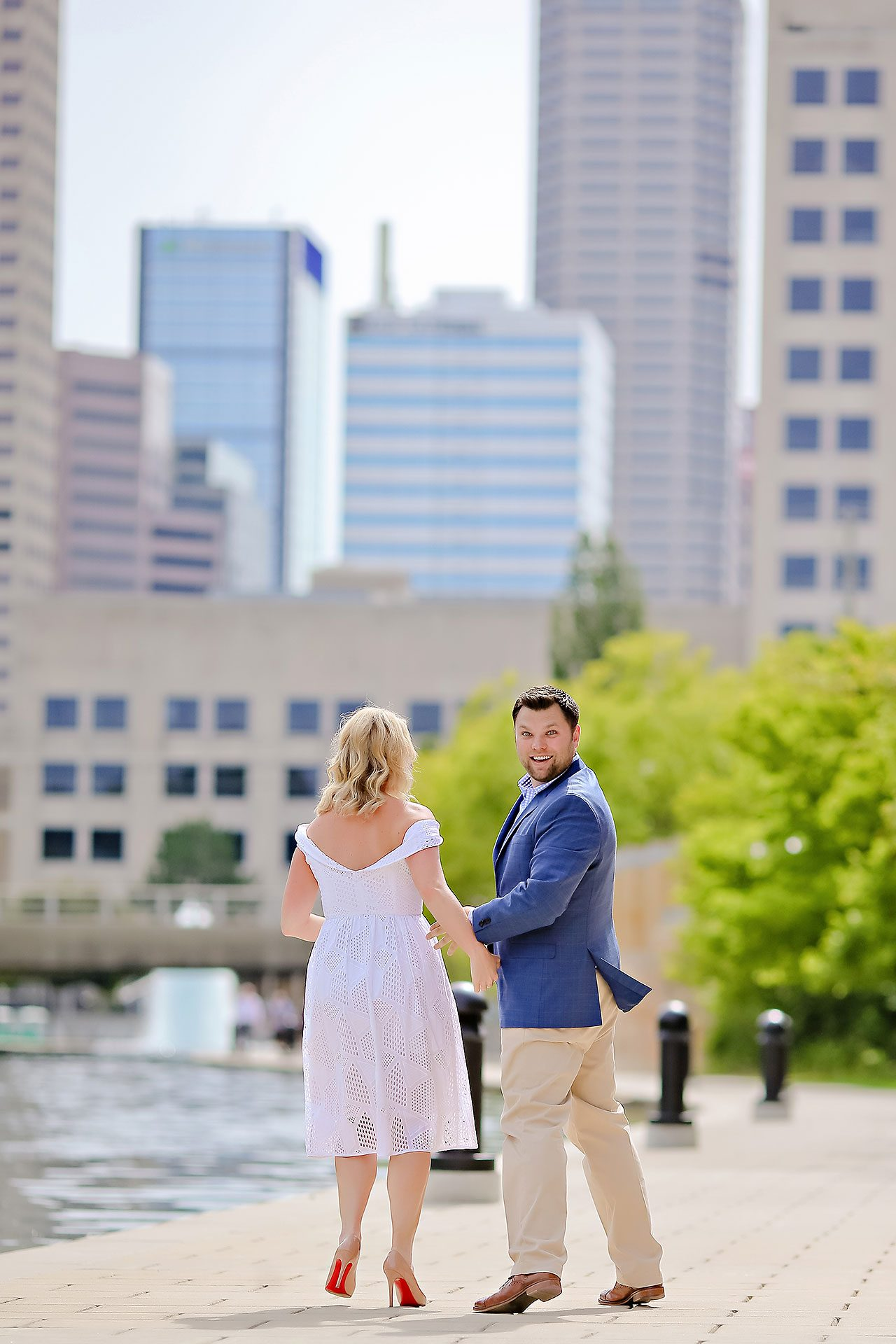 Chelsea Tom Downtown Indianapolis Engagement Session 120