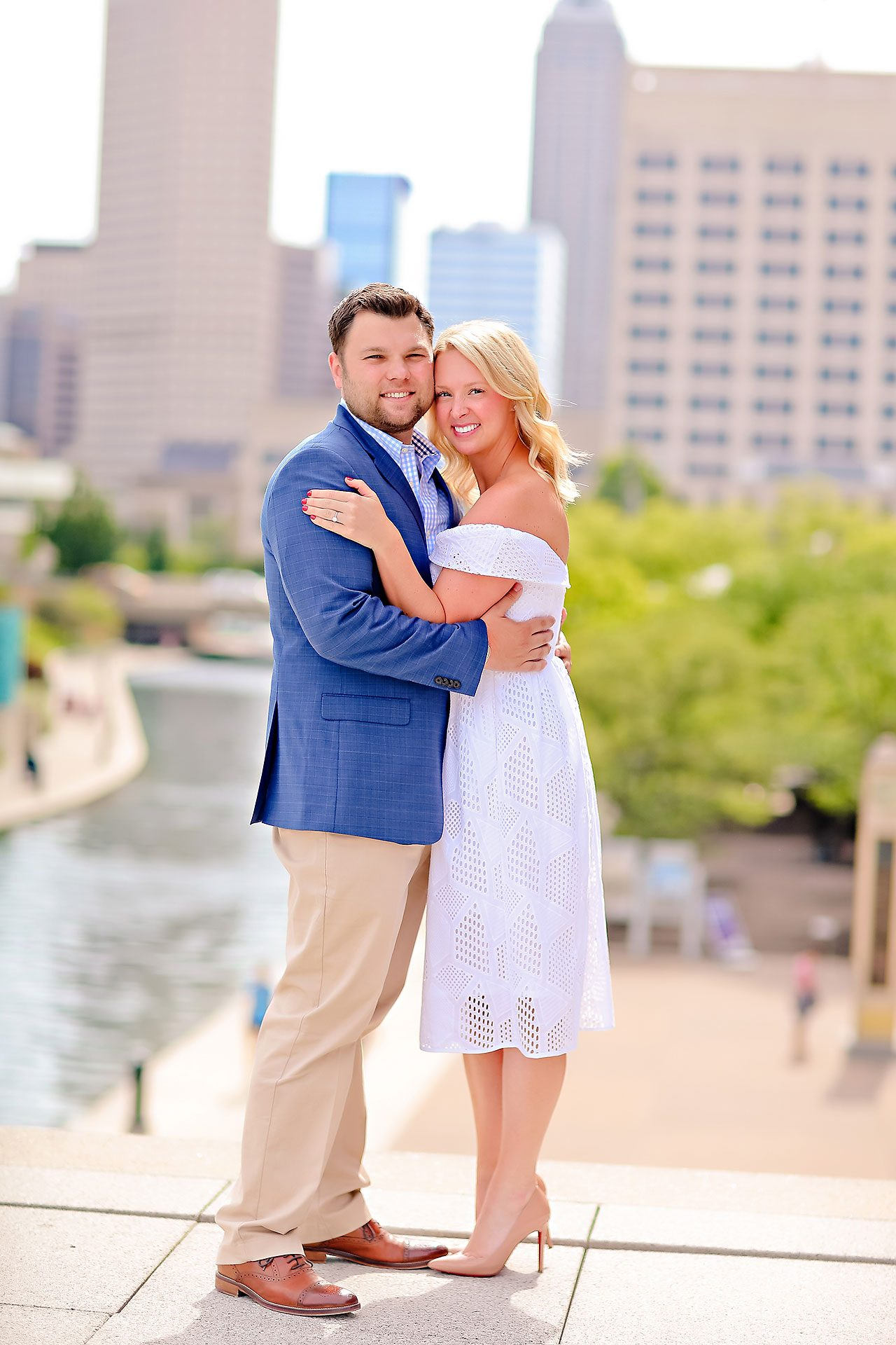 Chelsea Tom Downtown Indianapolis Engagement Session 121