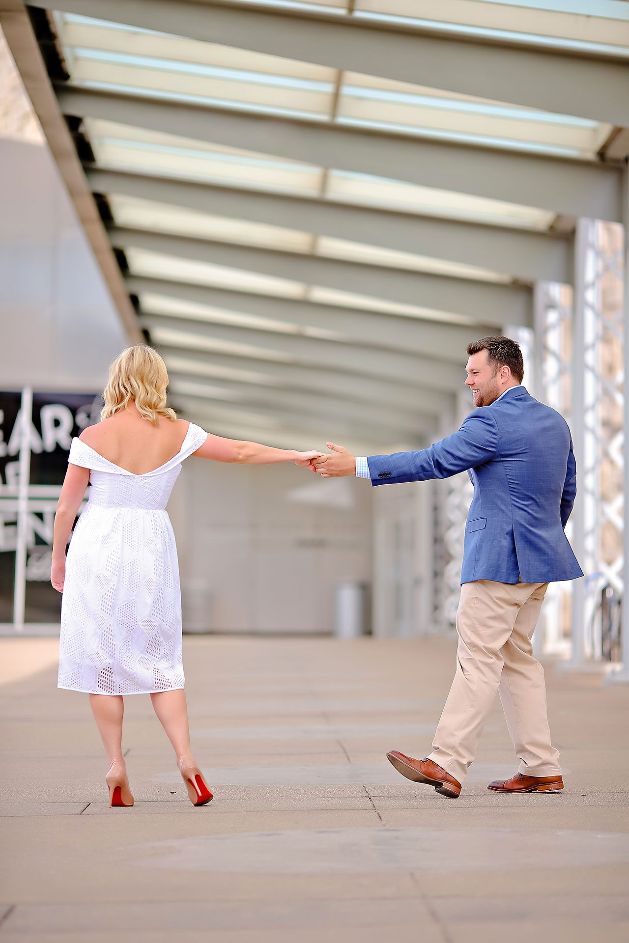 Chelsea Tom Downtown Indianapolis Engagement Session 122