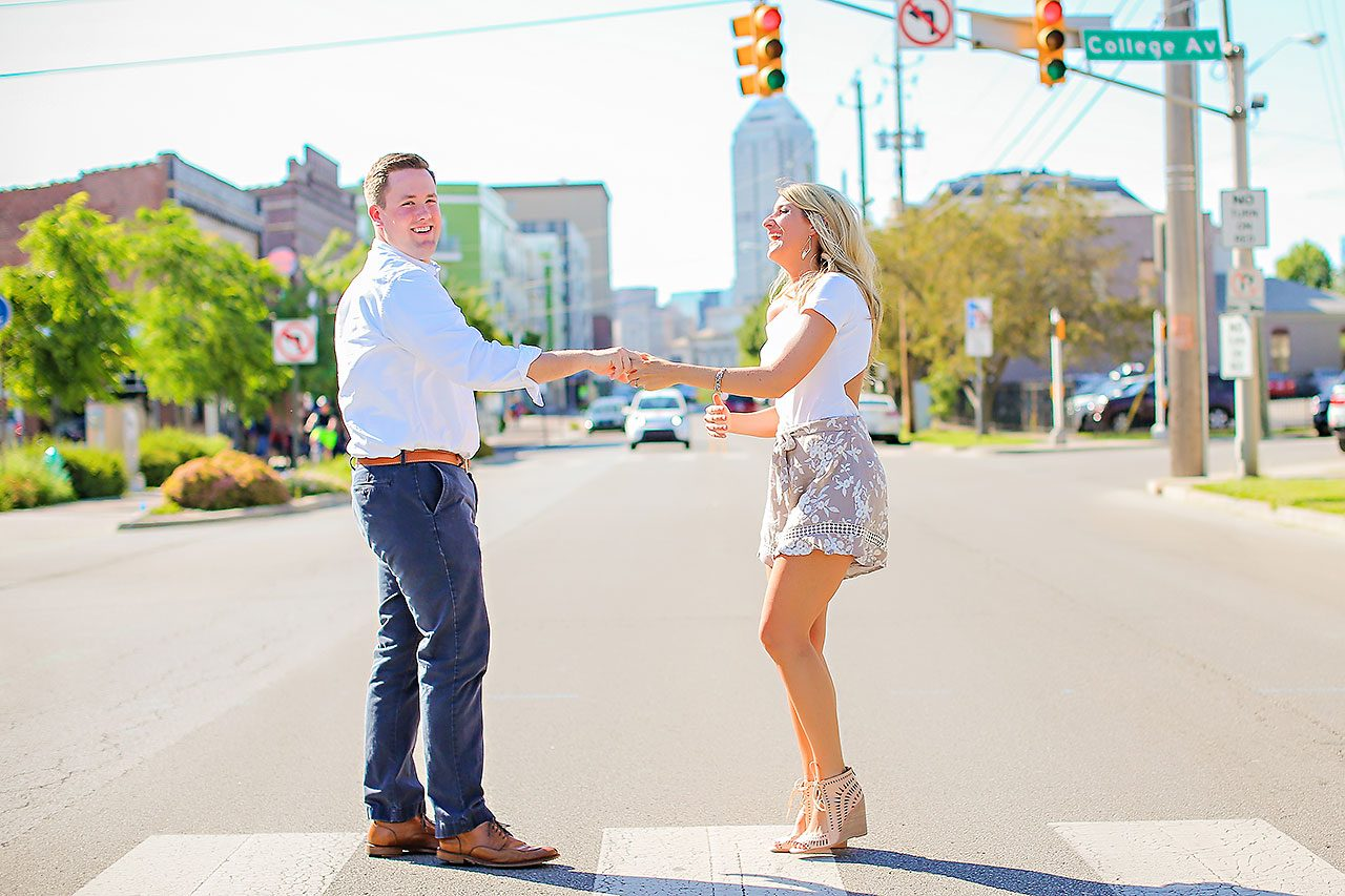 Taryn Jon Indianapolis Engagement Session 091