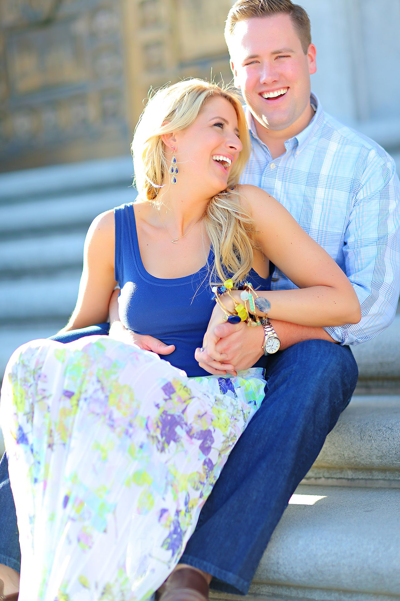 Taryn Jon Indianapolis Engagement Session 136