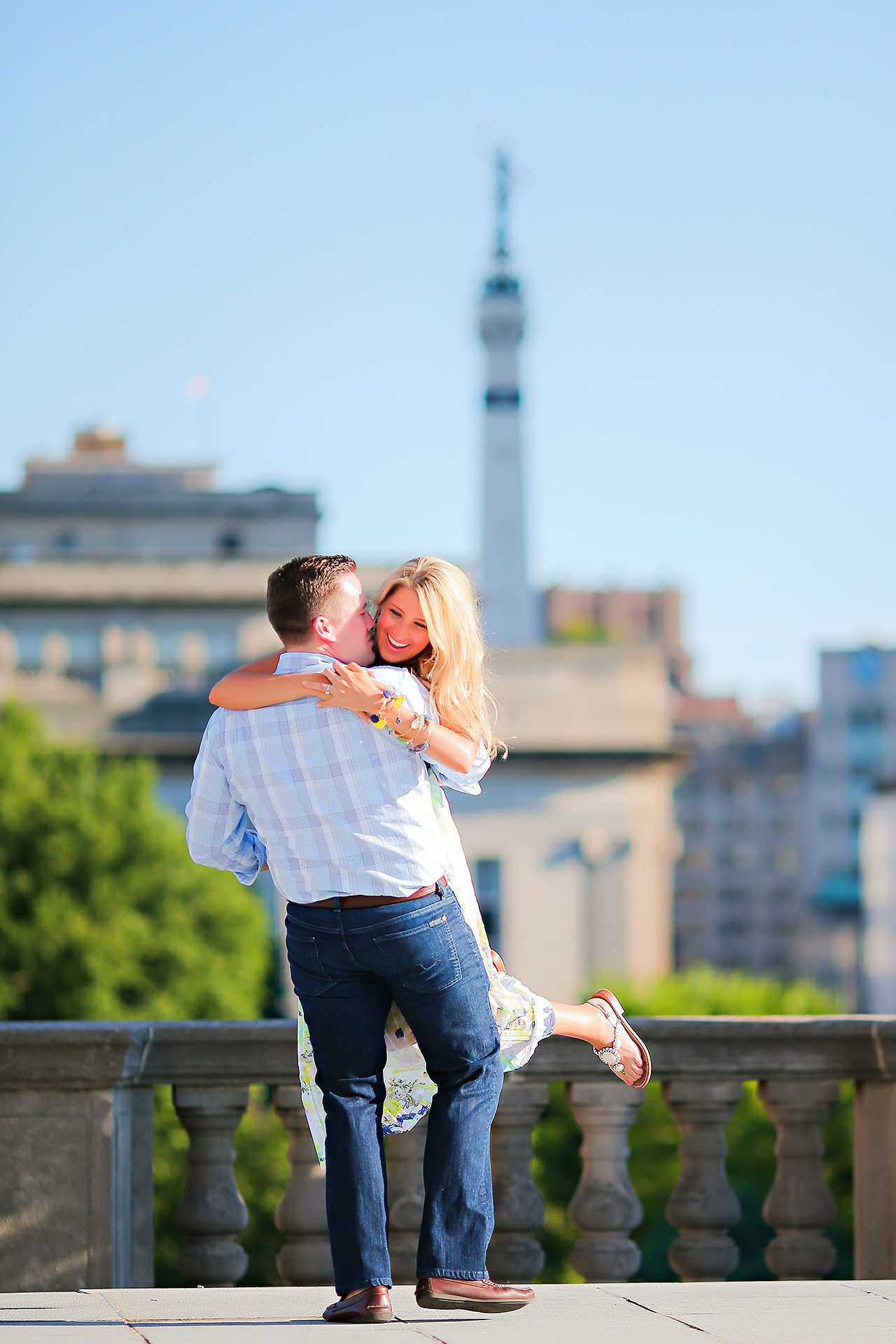 Taryn Jon Indianapolis Engagement Session 137