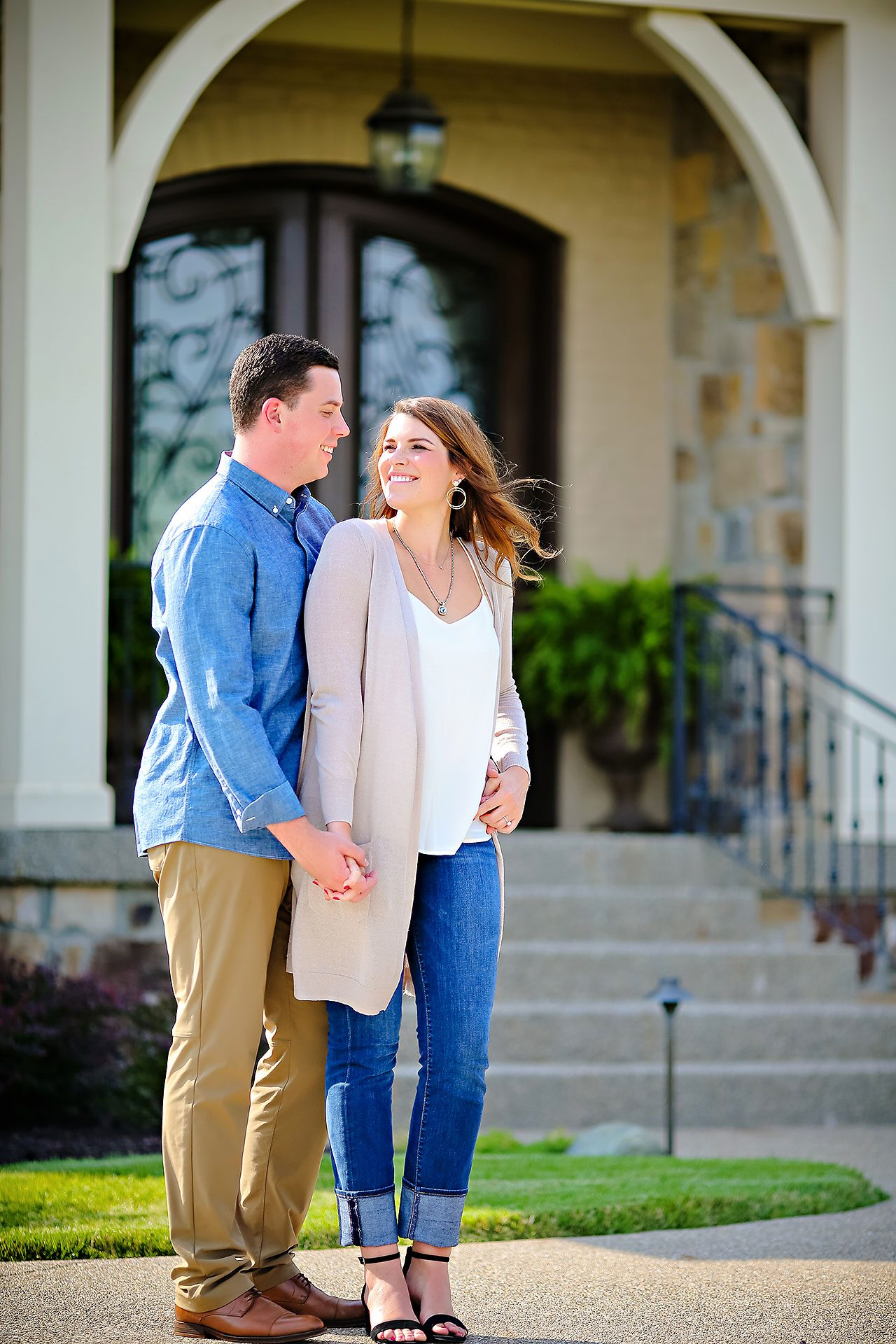 Emily JD Carmel Indiana Engagement Session 009