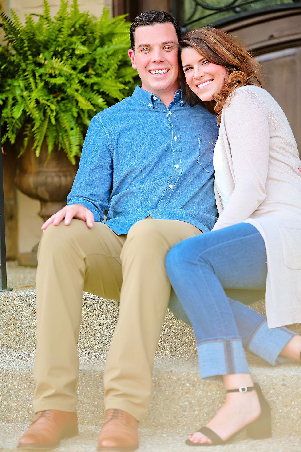 Emily JD Carmel Indiana Engagement Session 061