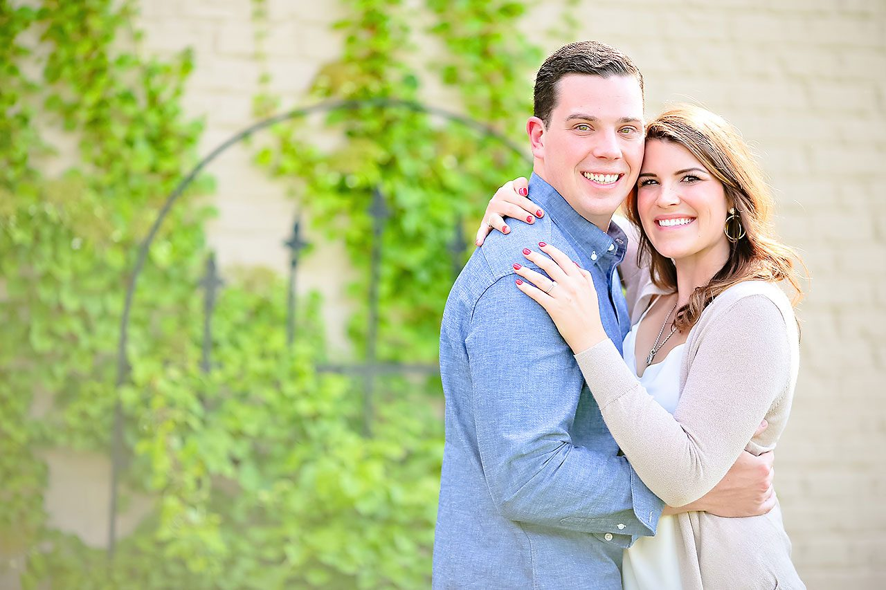 Emily JD Carmel Indiana Engagement Session 068