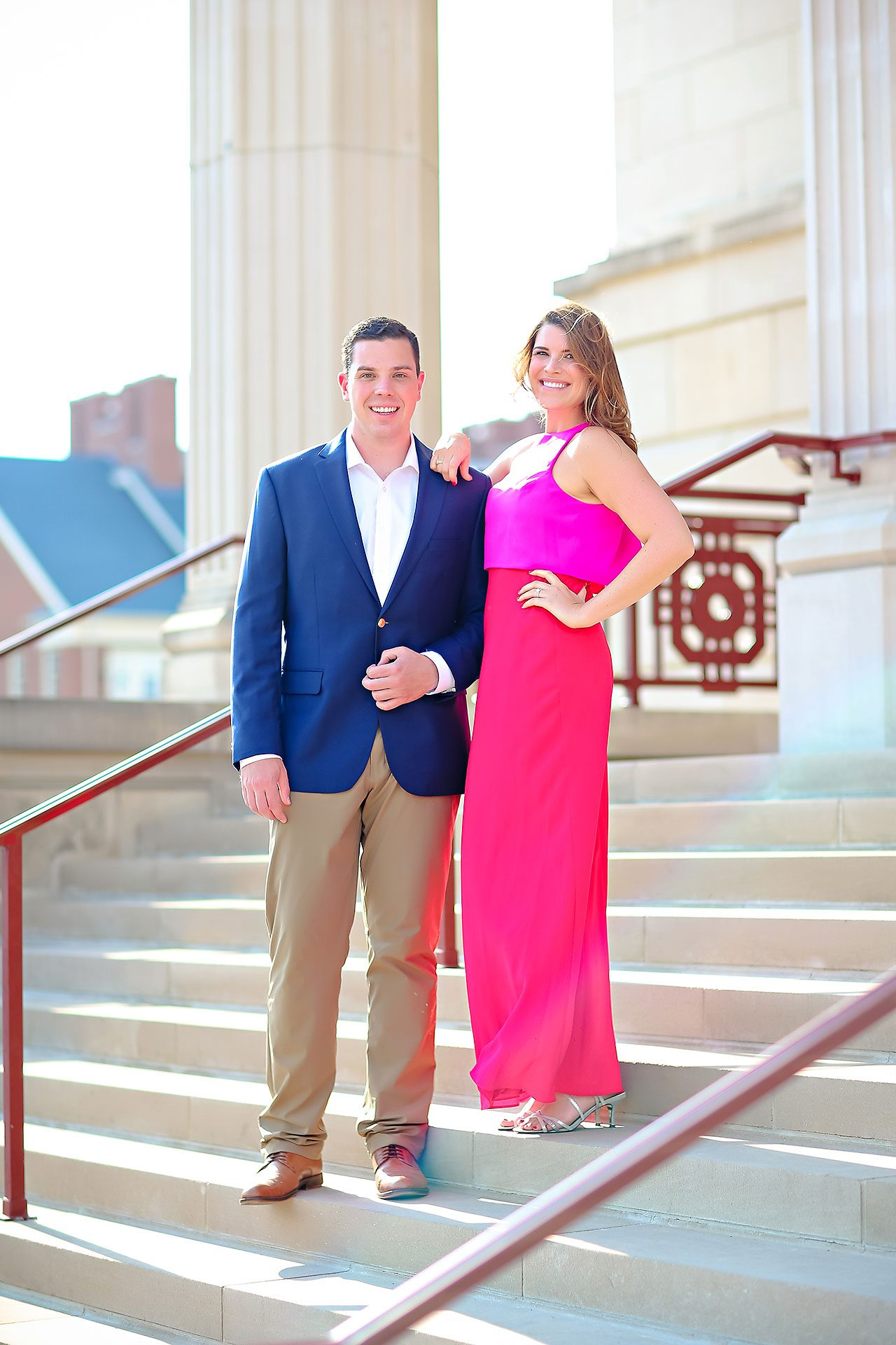 Emily JD Carmel Indiana Engagement Session 110