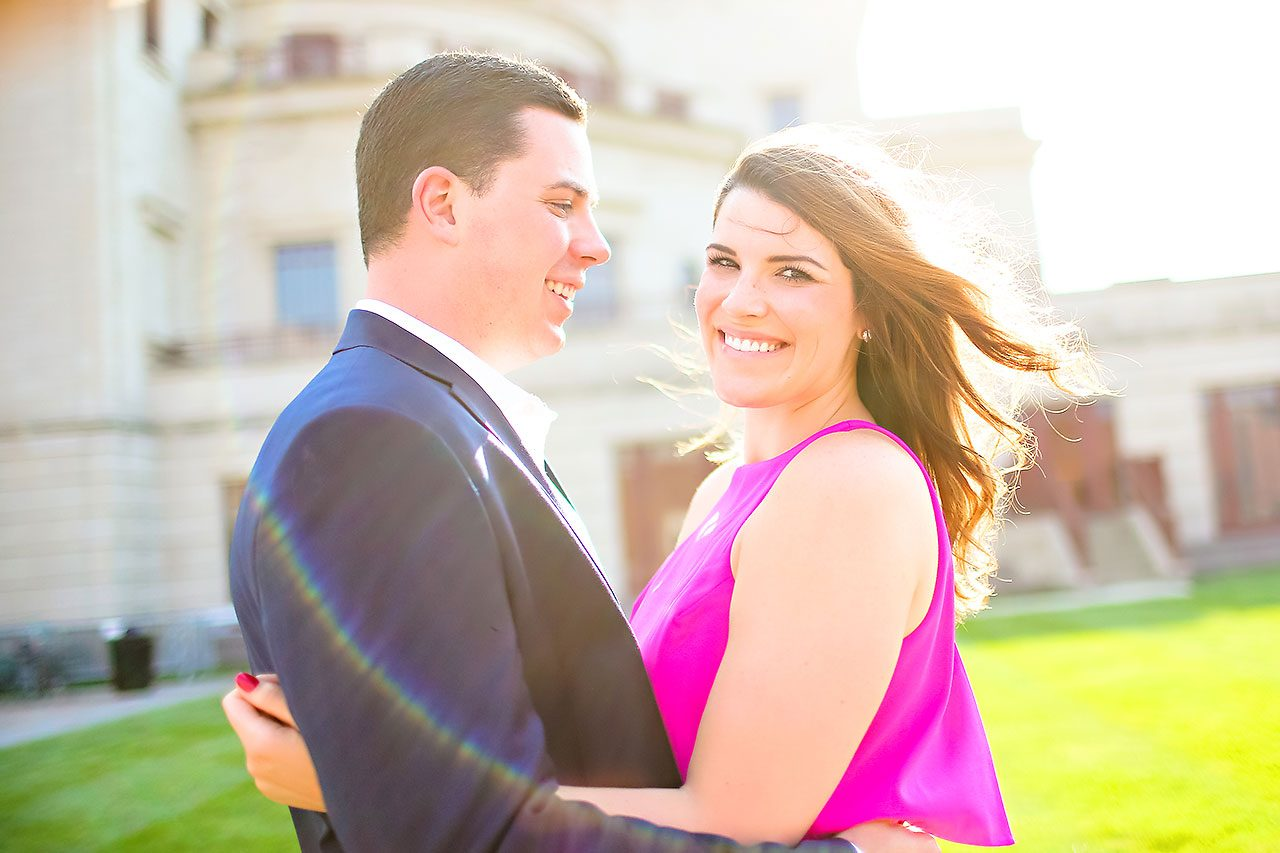 Emily JD Carmel Indiana Engagement Session 122