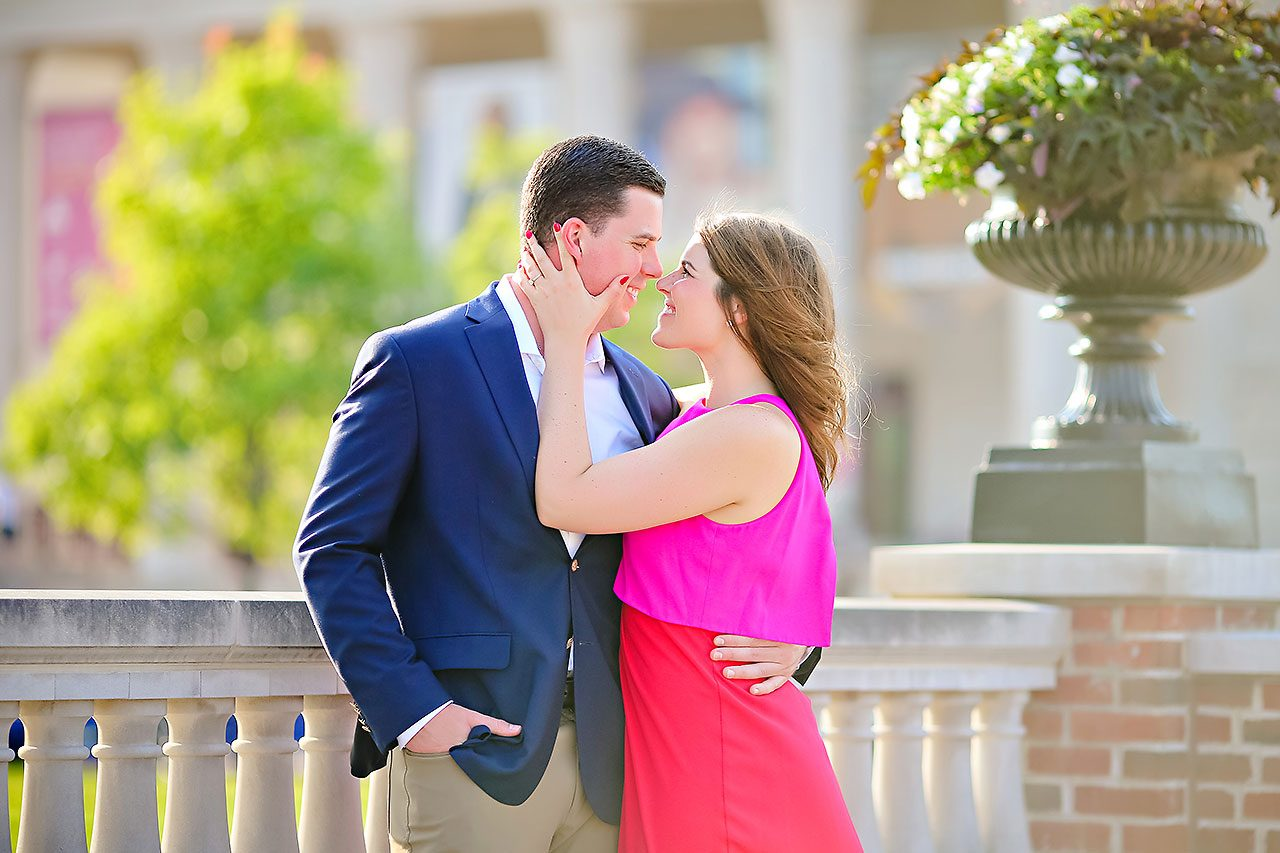 Emily JD Carmel Indiana Engagement Session 123