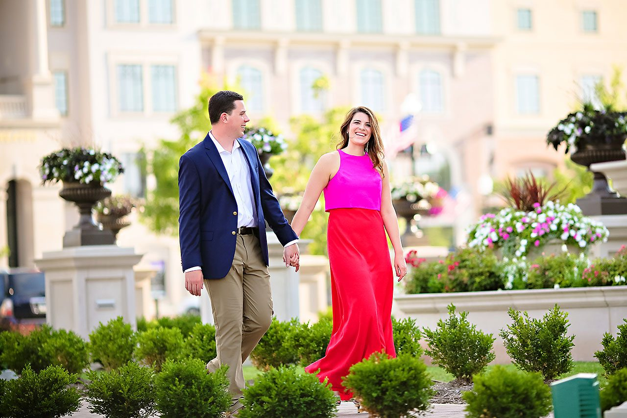 Emily JD Carmel Indiana Engagement Session
