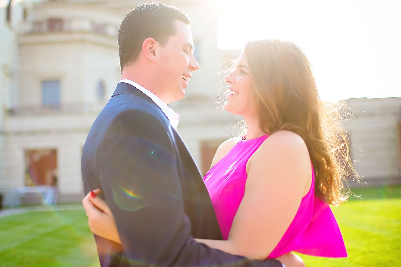 Emily JD Carmel Indiana Engagement Session 136