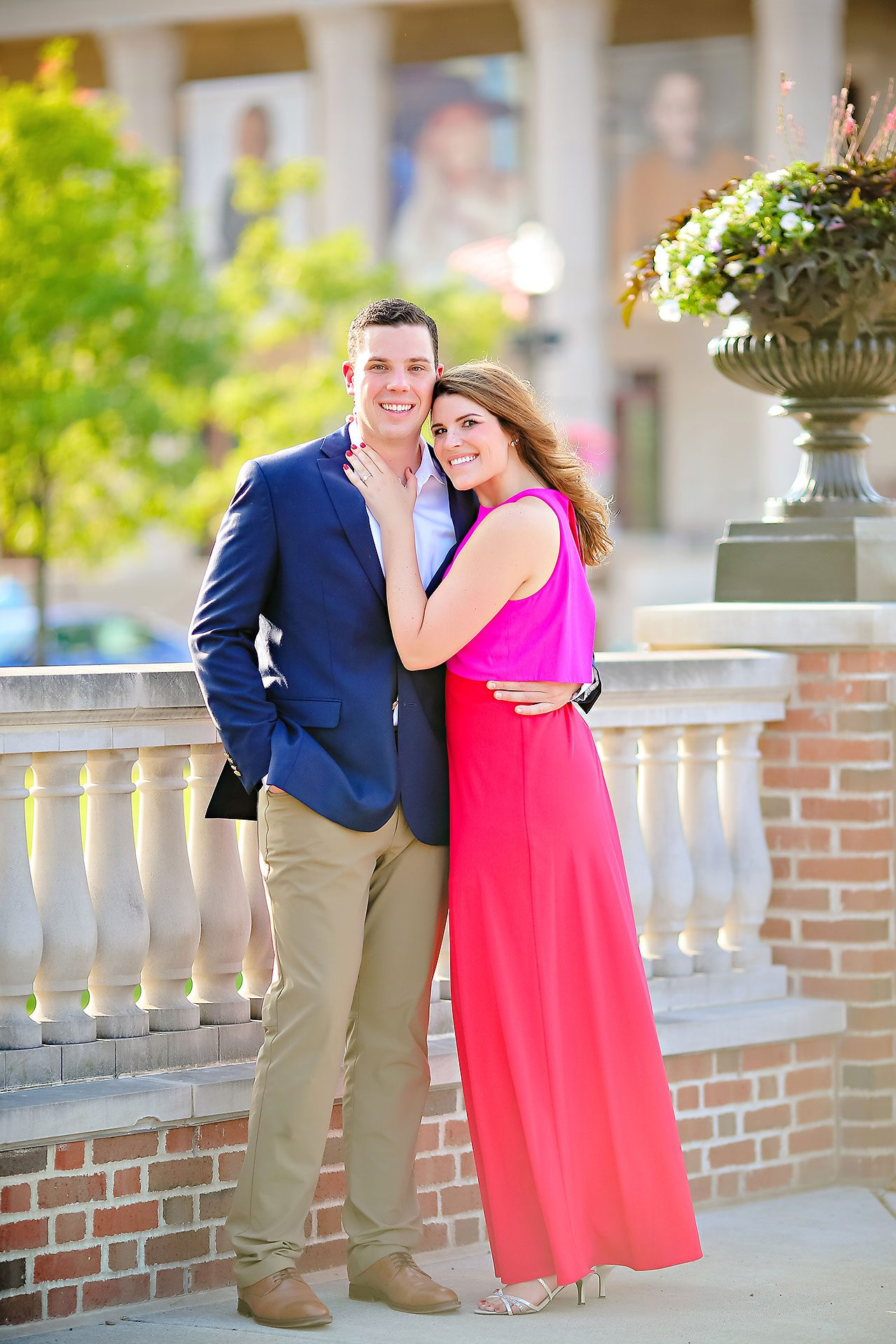 Emily JD Carmel Indiana Engagement Session 143