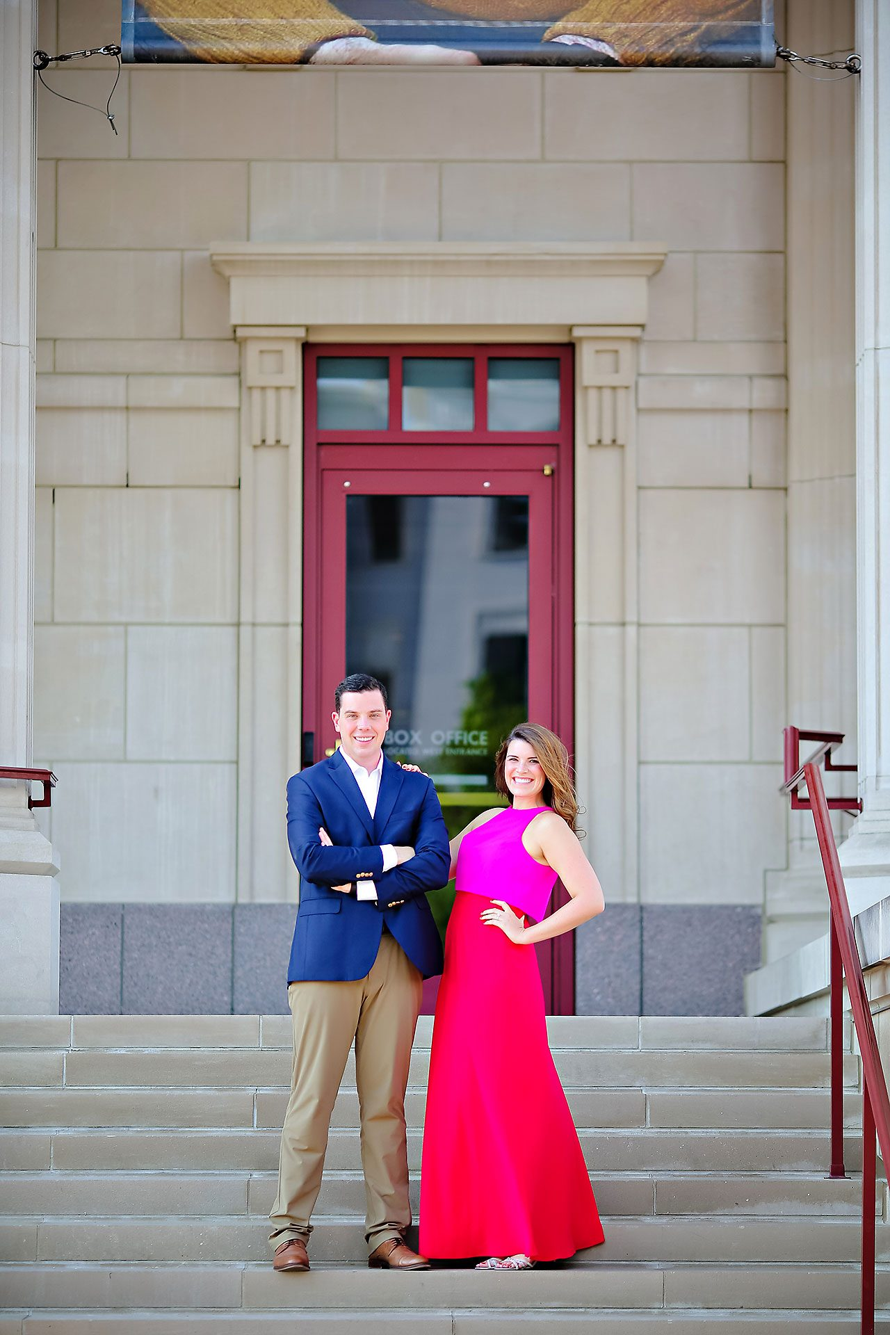 Emily JD Carmel Indiana Engagement Session 153