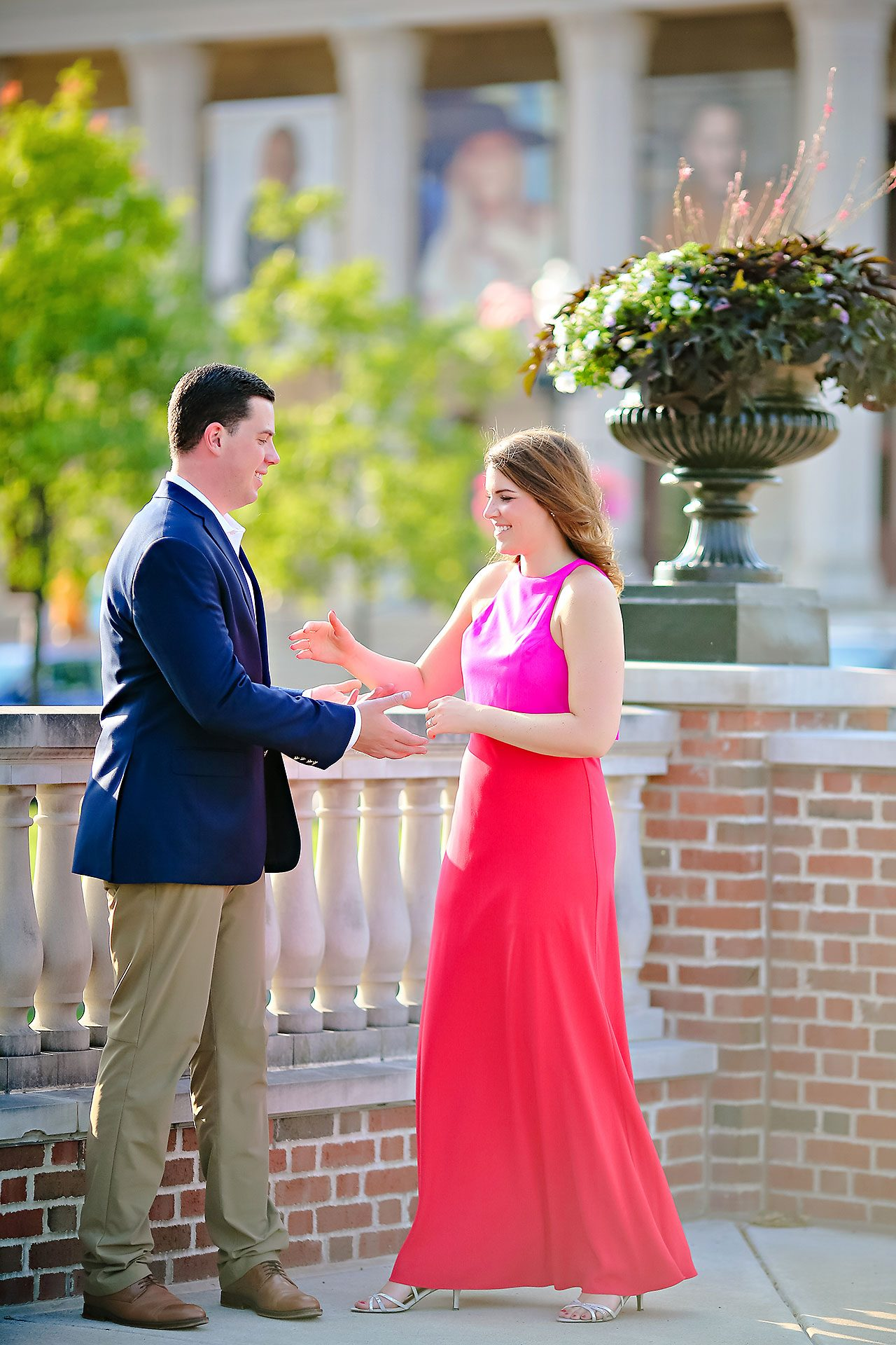 Emily JD Carmel Indiana Engagement Session 164