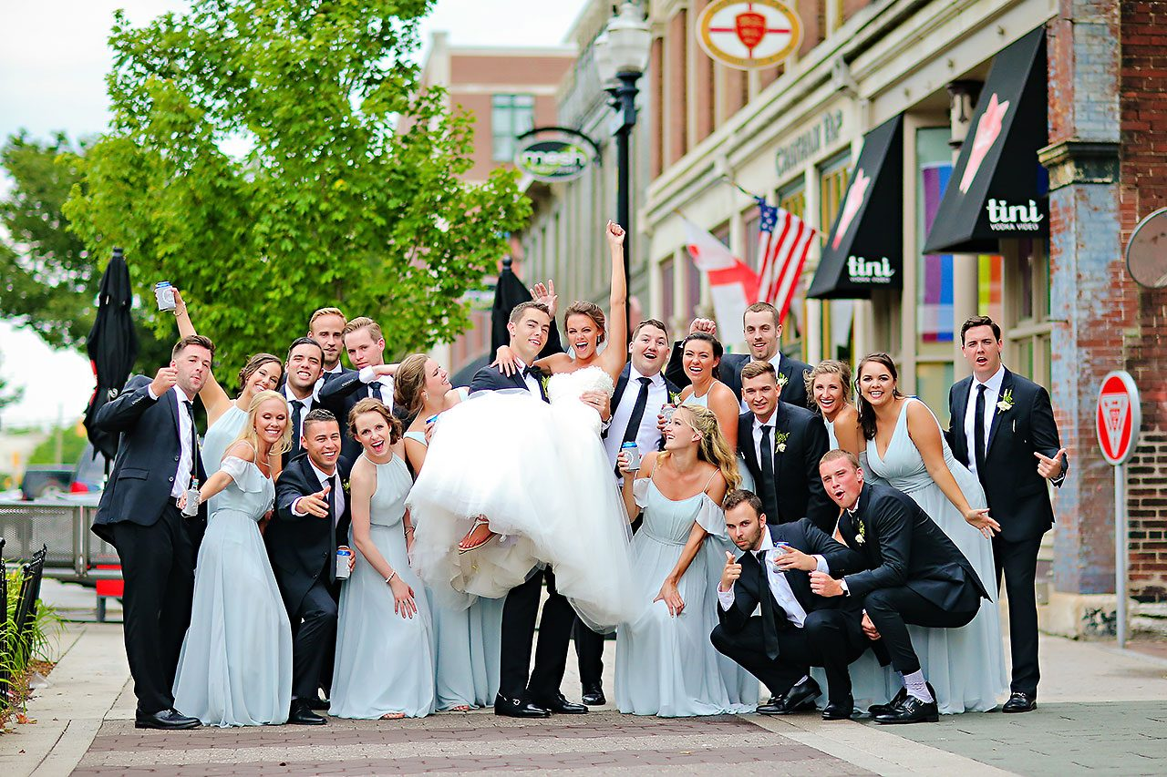 Katey Nick Conrad Indianapolis Wedding