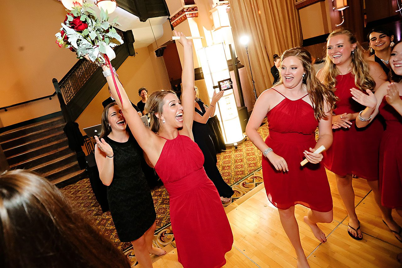 Diana Nick Crowne Plaza Indianapolis Wedding 325