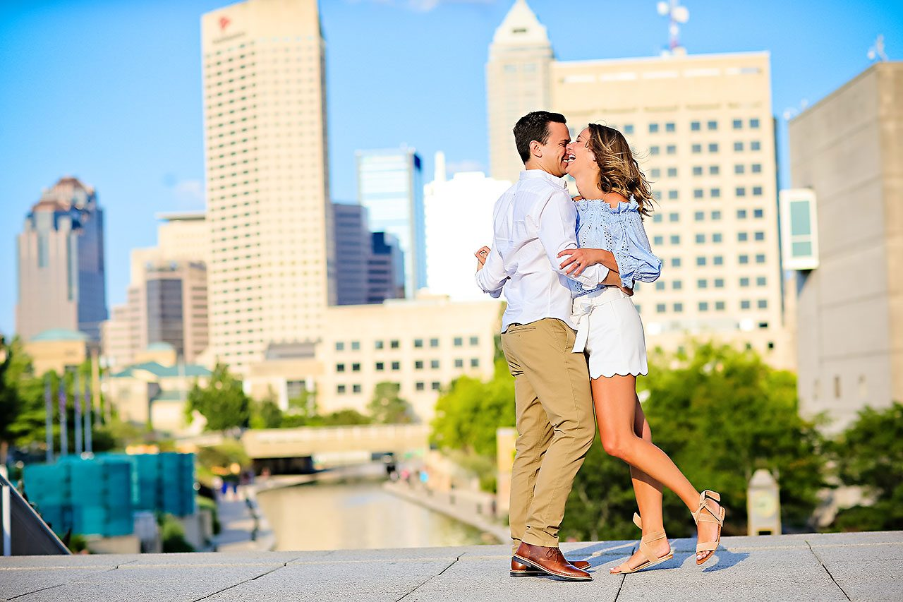 Kathleen Ben Downtown Indy Engagement 094