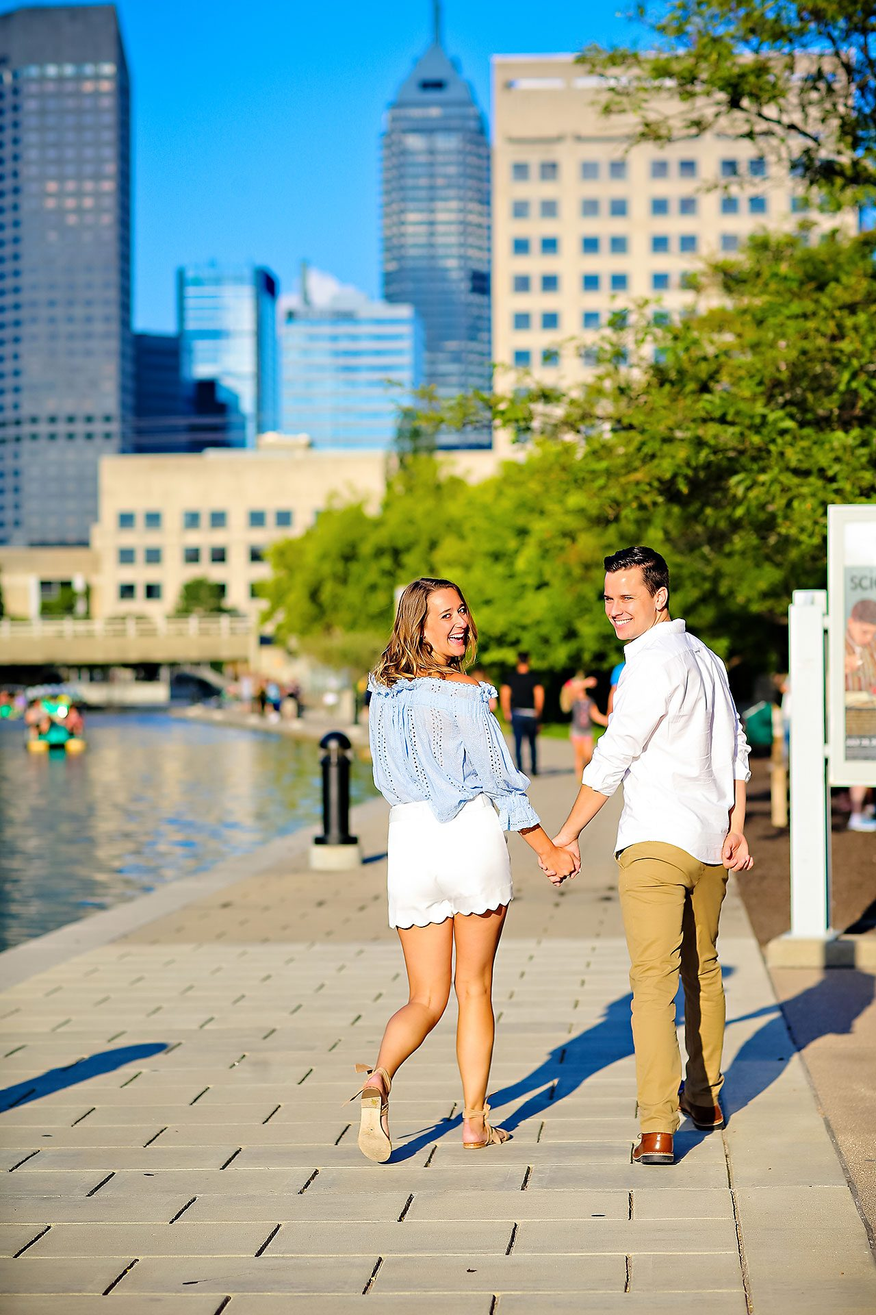 Kathleen Ben Downtown Indy Engagement 098