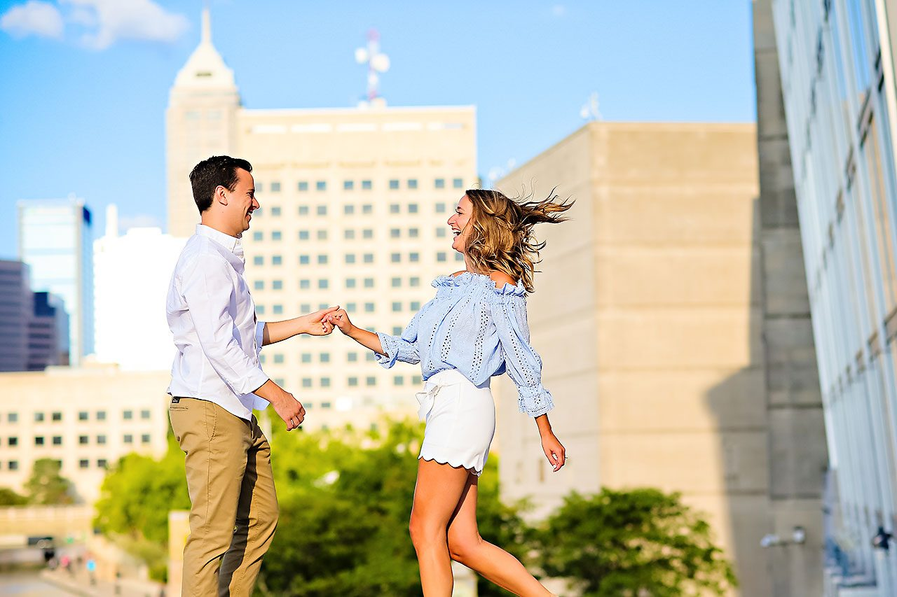 Kathleen Ben Downtown Indy Engagement 104