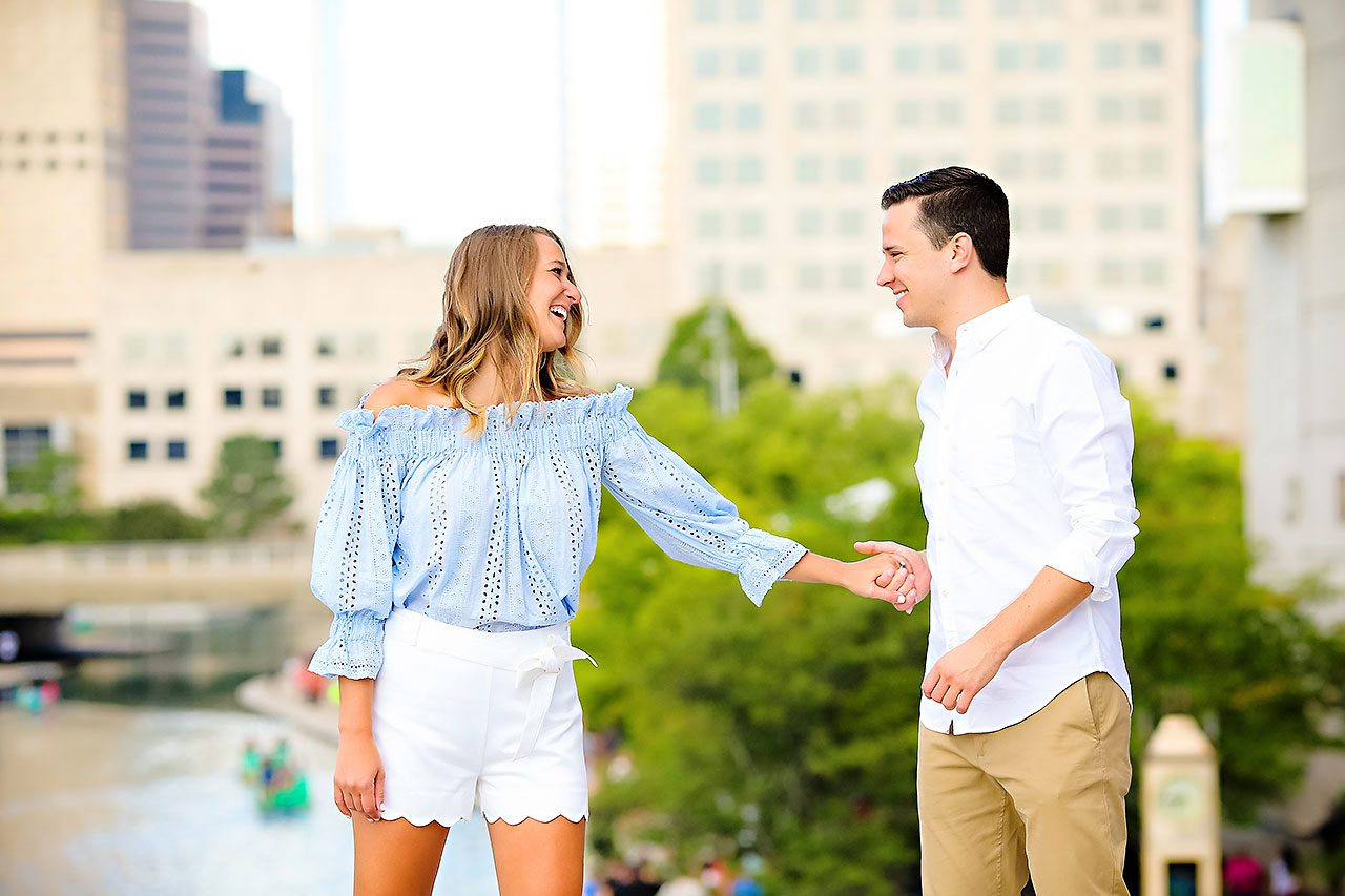 Kathleen Ben Downtown Indy Engagement 107