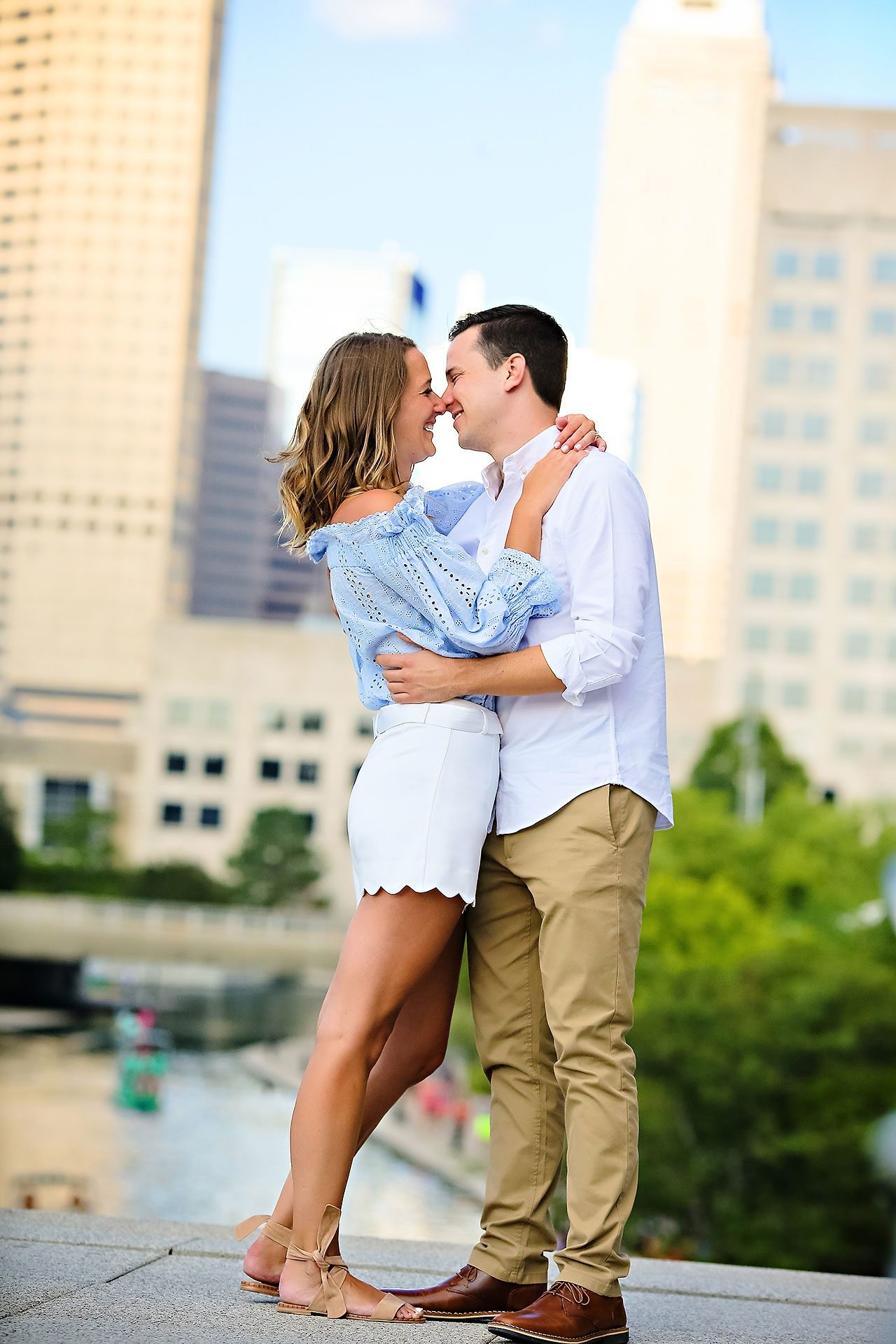 Kathleen Ben Downtown Indy Engagement 116