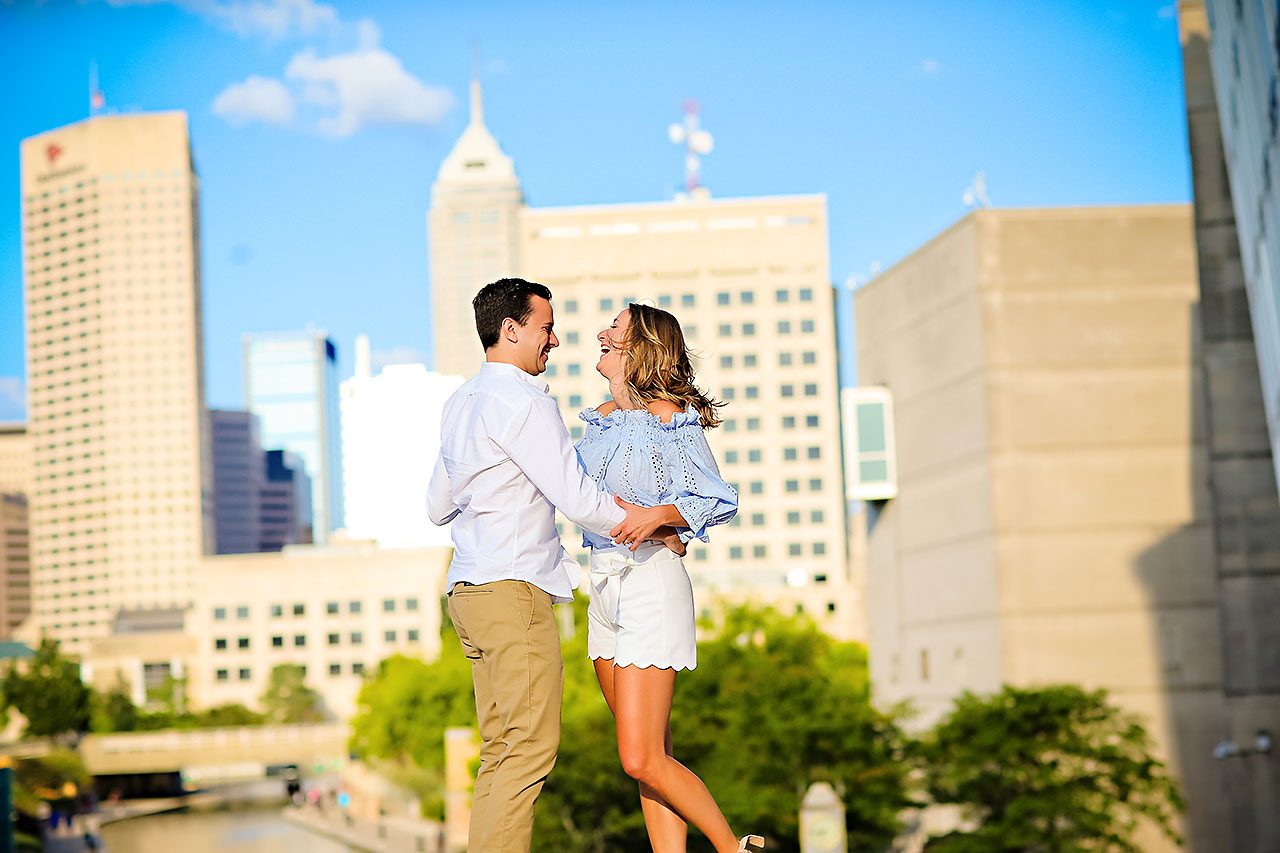 Kathleen Ben Downtown Indy Engagement 120