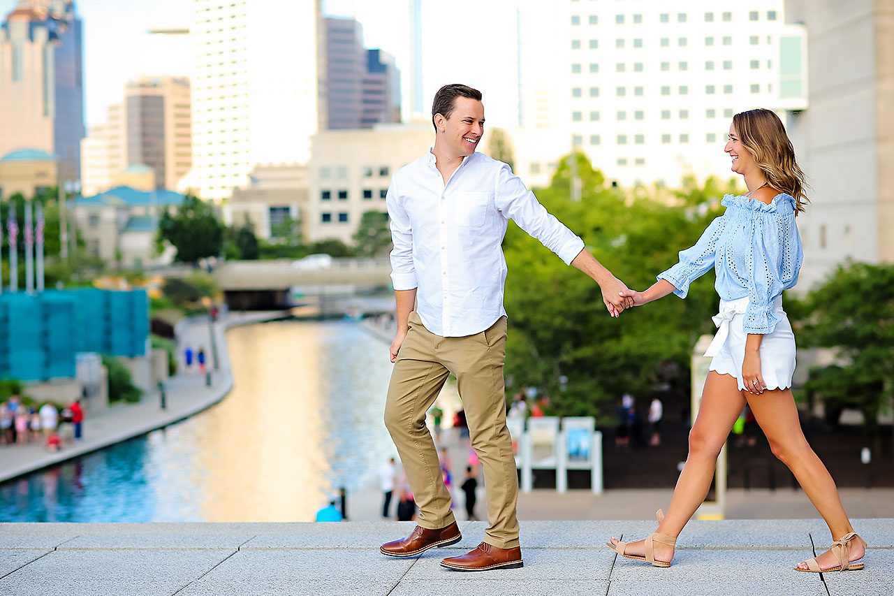 Kathleen Ben Downtown Indy Engagement 121