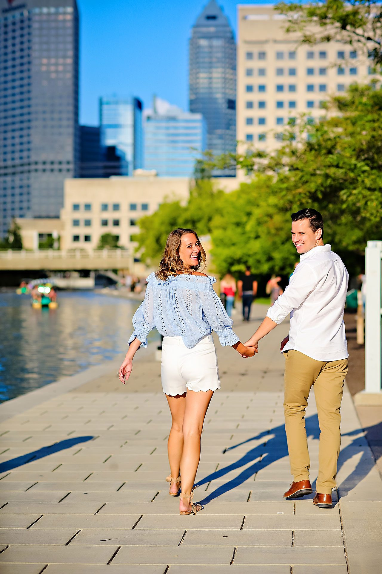 Kathleen Ben Downtown Indy Engagement 124