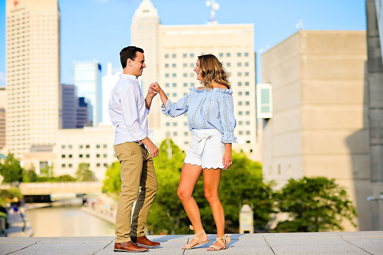 Kathleen Ben Downtown Indy Engagement 133