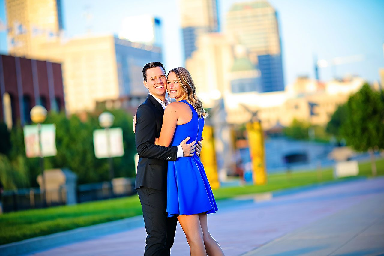 Kathleen Ben Downtown Indy Engagement 169
