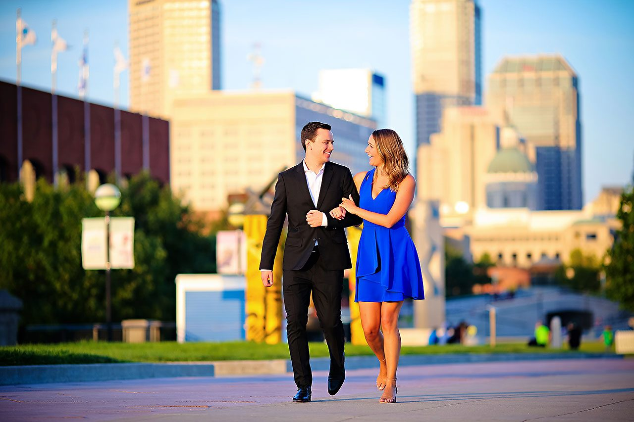 Kathleen Ben Downtown Indy Engagement 196
