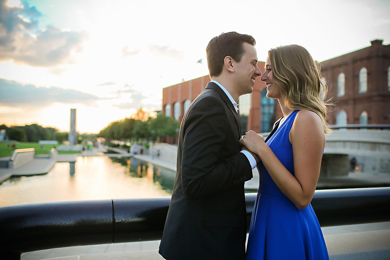 Kathleen Ben Downtown Indy Engagement 197