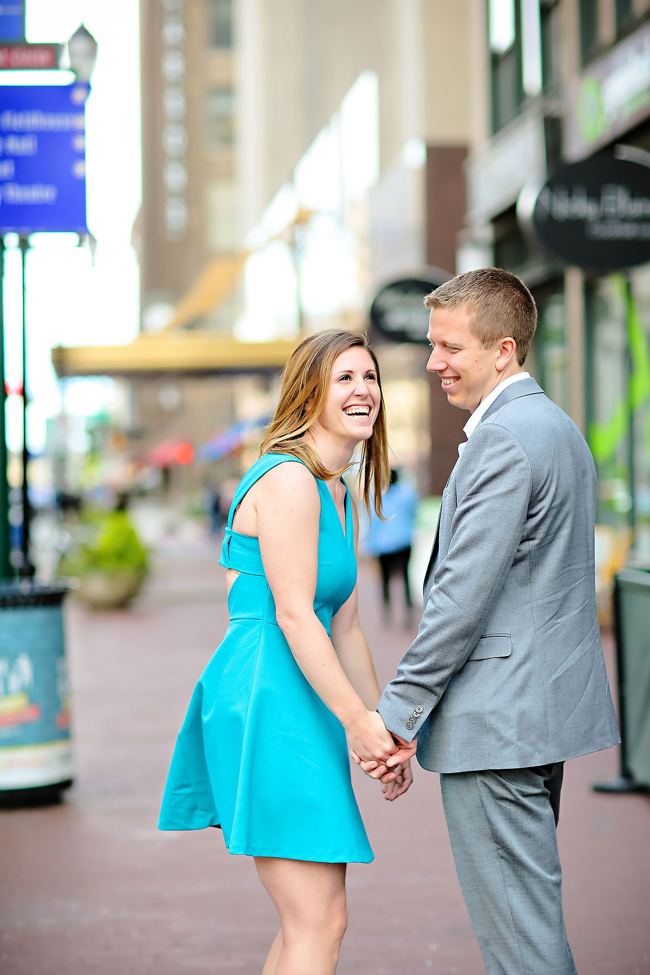 Chelsea Jeff Downtown Indy Engagement Session 003
