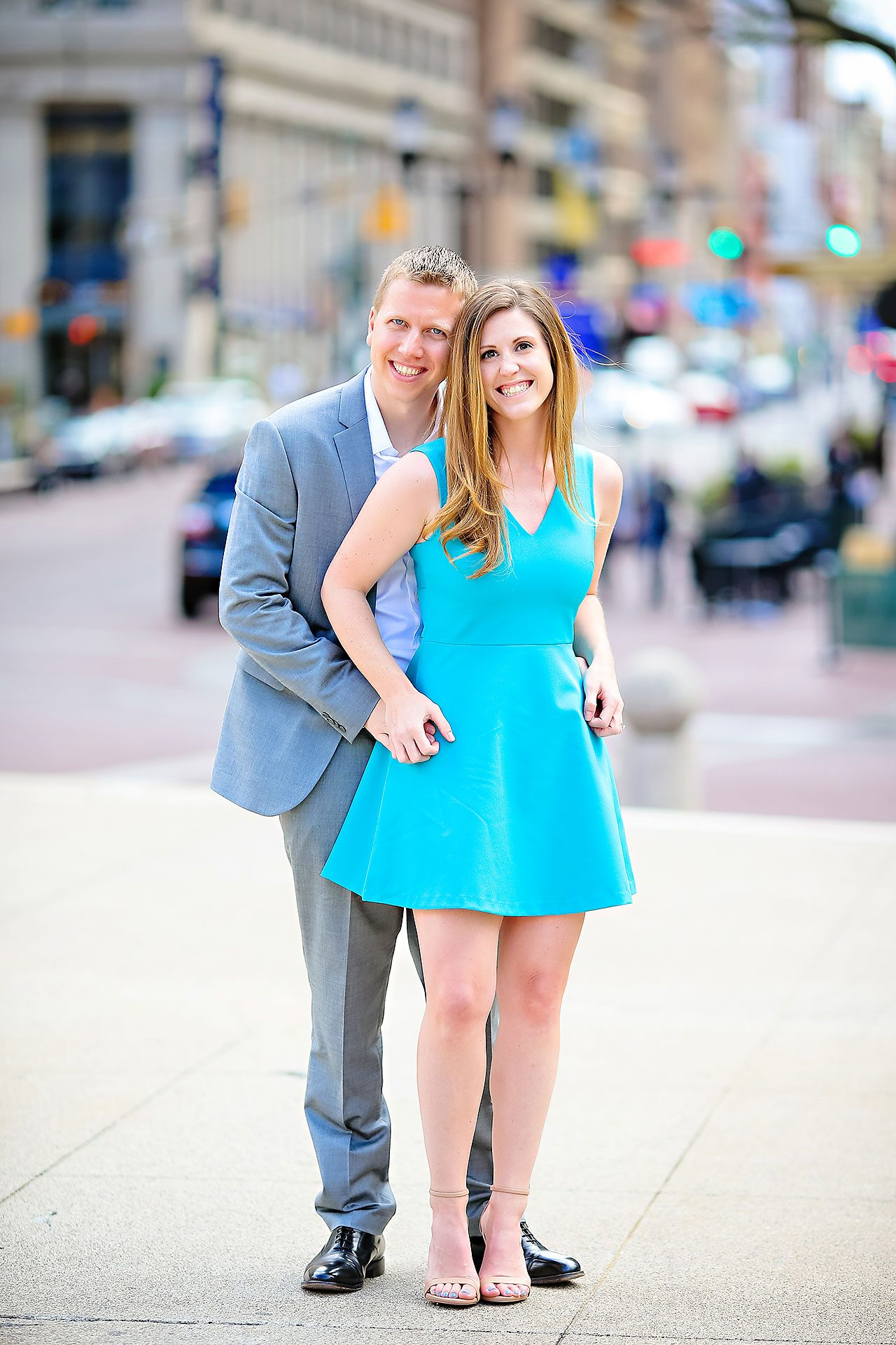 Chelsea Jeff Downtown Indy Engagement Session 013