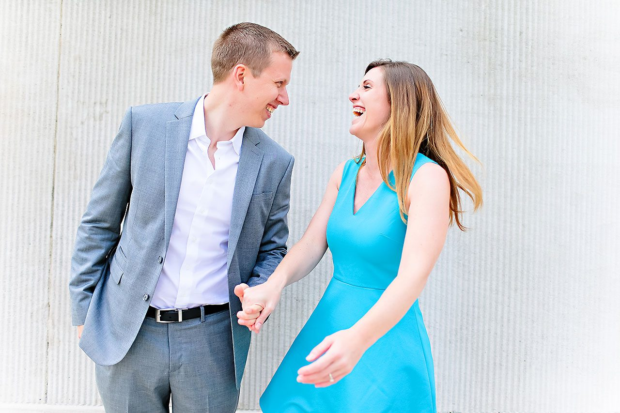 Chelsea Jeff Downtown Indy Engagement Session 021