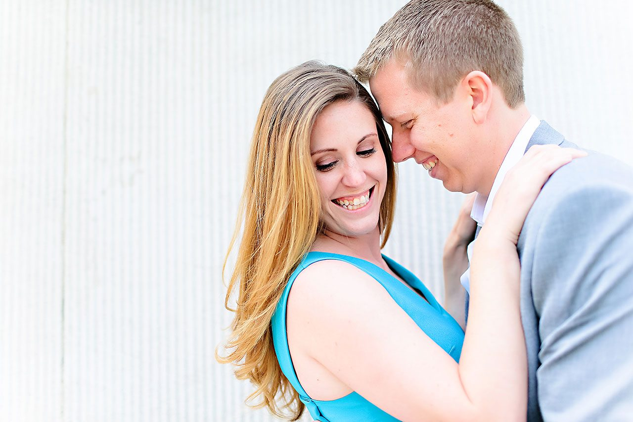 Chelsea Jeff Downtown Indy Engagement Session 023